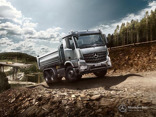 بررسی مدل جدید کامیون مرسدس بنز آرو (قسمت اول)