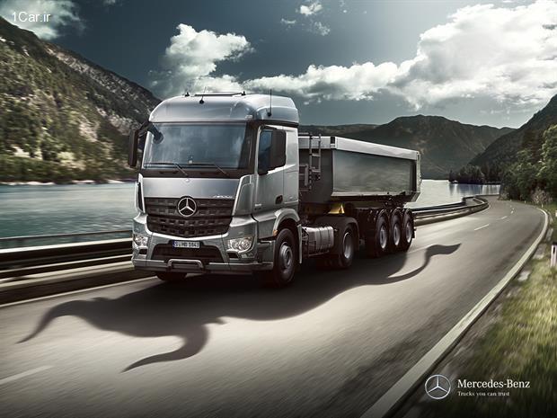 بررسی مدل جدید کامیون مرسدس بنز آروکس (قسمت پنجم)