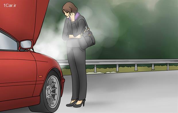 وقتی ماشین جوش میآورد، چه کار کنیم؟