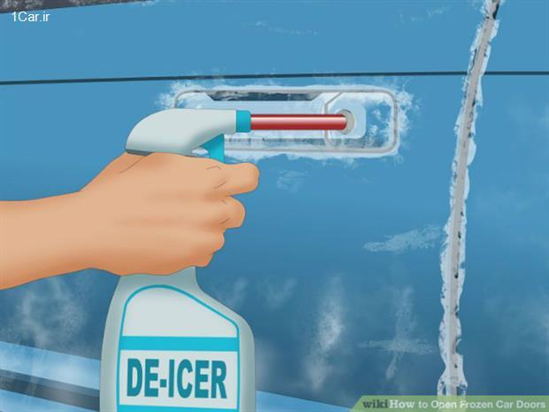 مقابله با یخ زدن زمستانی درهای ماشین