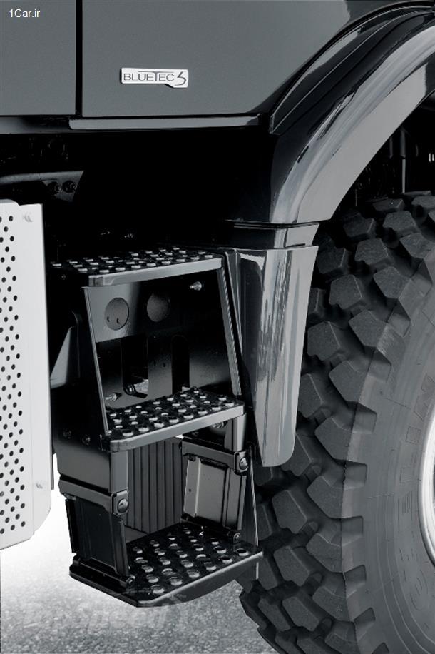 بررسی کامیون مرسدس بنز زتروس