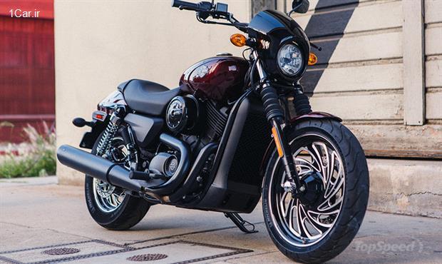 بررسی موتورسیکلت هارلی دیویدسون Street 500 مدل 2015