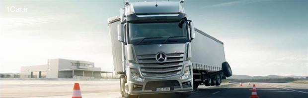 بررسی مدل جدید کامیون مرسدس بنز آروکس (قسمت چهارم)