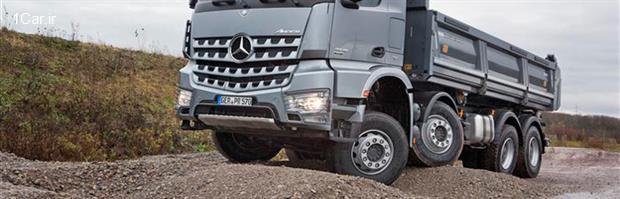 بررسی مدل جدید کامیون مرسدس بنز آروکس (قسمت سوم)
