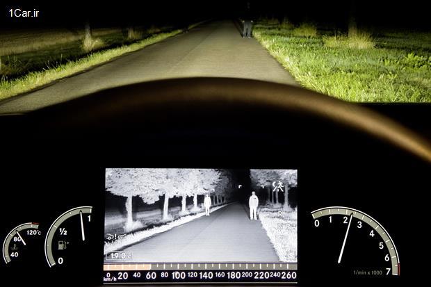 نحوه عملکرد سیستم های دید در شب ویژه خودروها