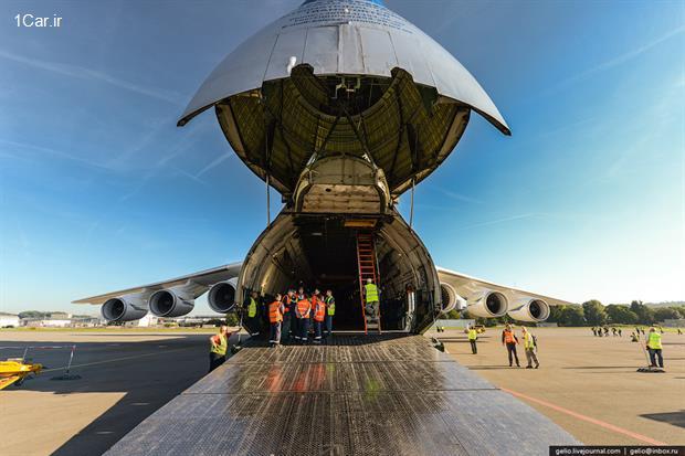 نگاهی به آنتونوف 225، بزرگترین هواپیمای جهان