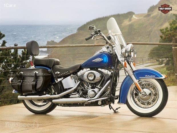 بررسی موتورسیکلت هارلی دیویدسون Heritage Softail Classic