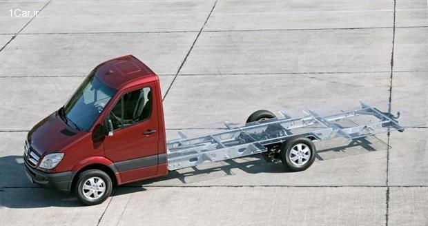 بررسی کامیونت Sprinter