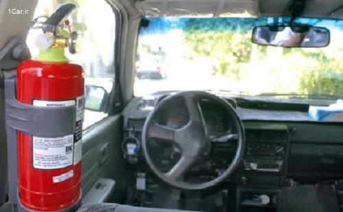 قیمت کپسول آتش نشانی خودرو