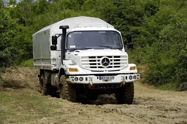 بررسی کامیون بنز زتروس 2010 (ویدئو)