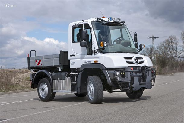 معرفی کامیون مرسدس بنز یونیماگ 2013