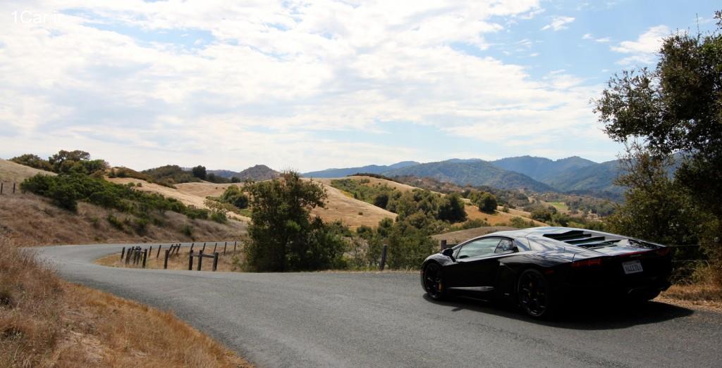 تجربه اولین رانندگی با لامبورگینی آونتادور (ويدئو)
