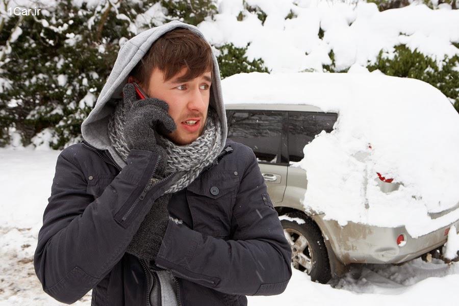 علت روشن نشدن ماشین در هوای سرد و نحوه روشن کردن آن