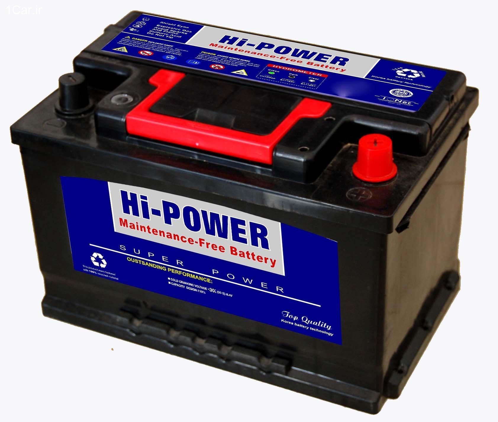 انتخاب بهترین باتری خودرو