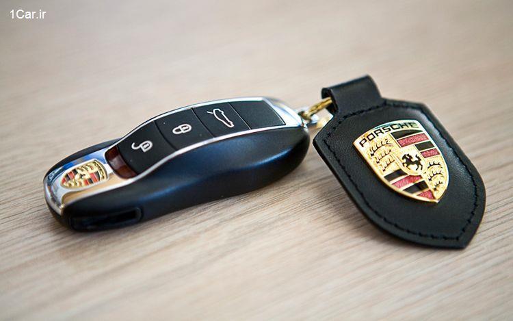 سیستم دسترسی بدون کلید Keyless Entry وان کار