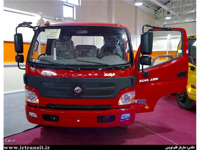 قیمت اقساطی کامیونت الوند